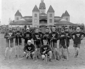 There are very few authenticated photos from the post-war professional game. This appears to be a New Westminster squad from ca.1922-1924